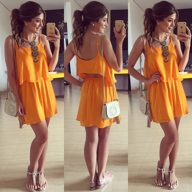 Fashion Women Sexy Yellow Dress Casual Prom Dress Suits On Luulla